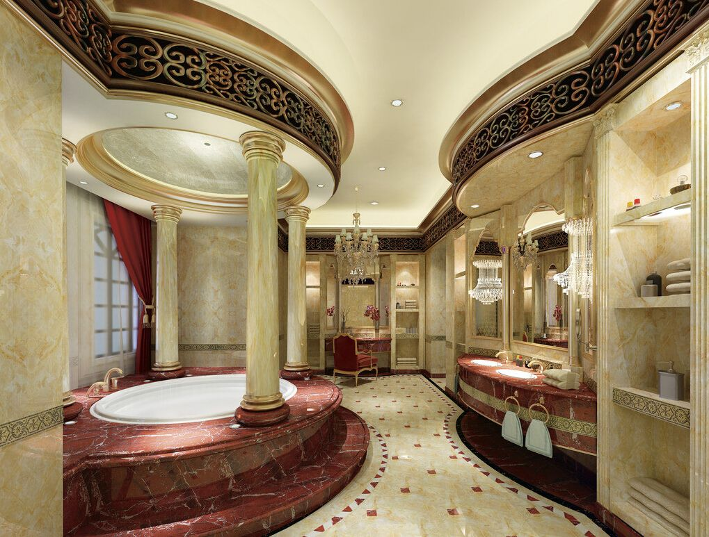 Top 21 ultra luxury bathroom inspiration luxury fancy for Beautiful houses interior bathrooms