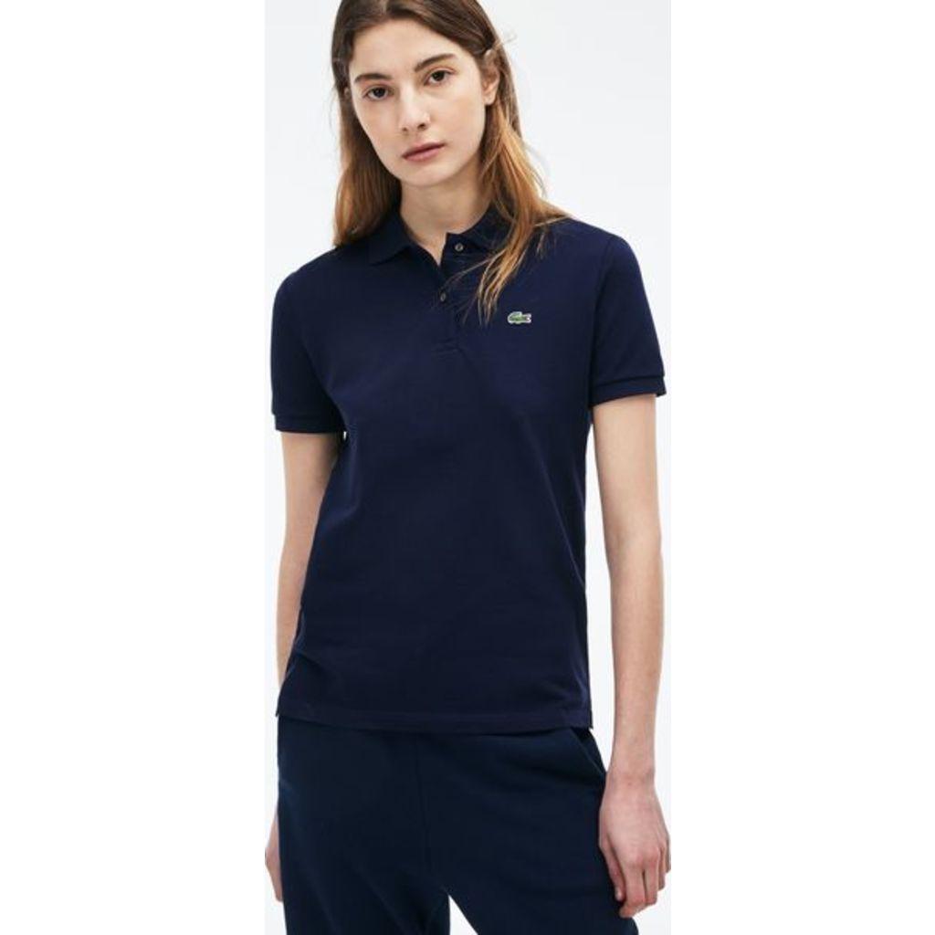 navy blue polo shirt for women