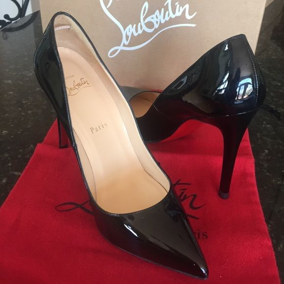 ccefff82d09 Authentic Christian Louboutin Pigalle