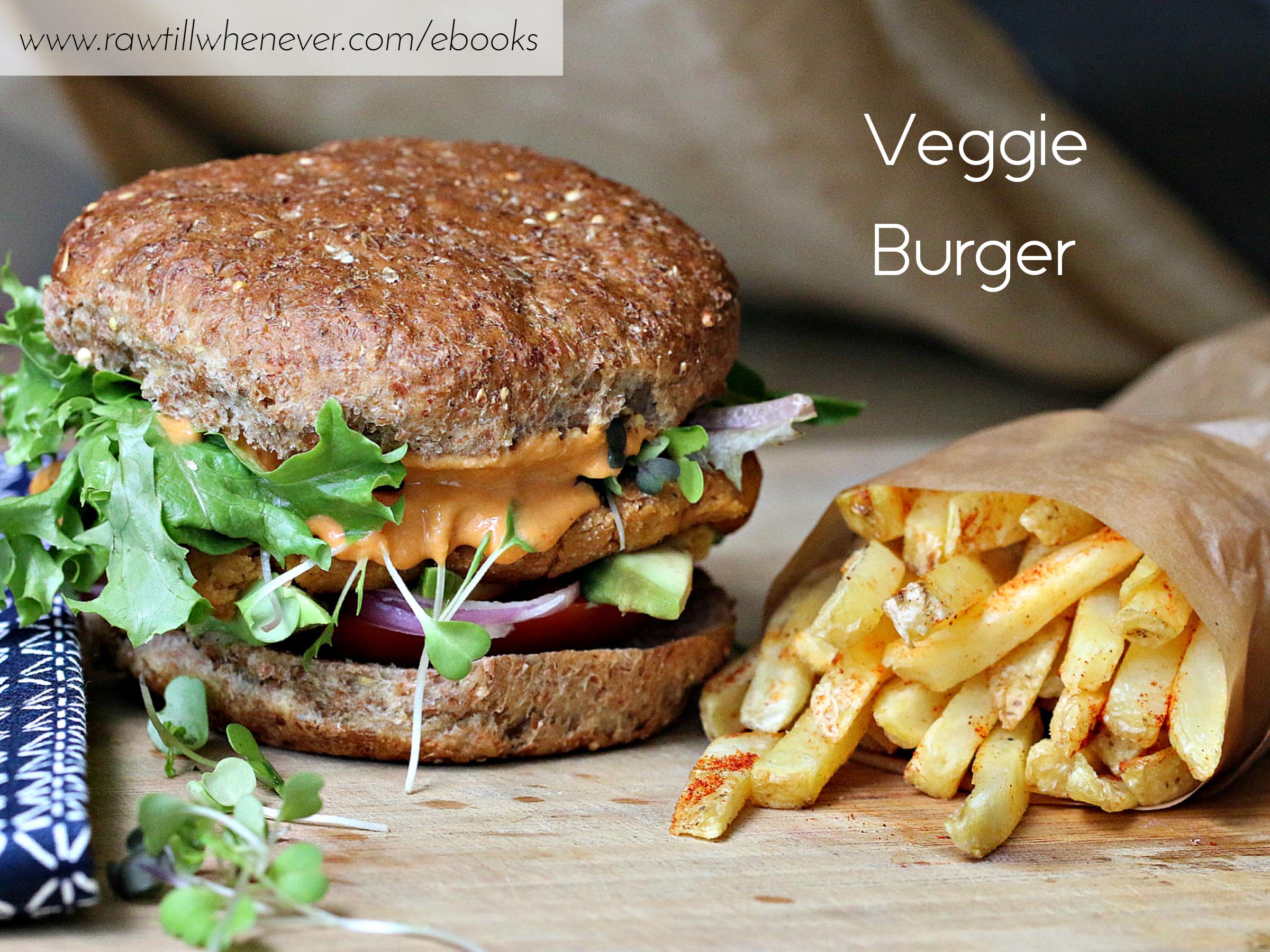Veggie burger recipe featured from my best selling vegan recipe book veggie burger recipe featured from my best selling vegan recipe book fullycooked forumfinder Choice Image