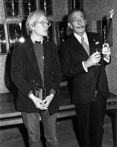 #Dali & #Warhol. #art #artist #andywarhol