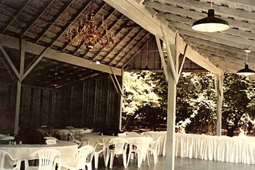 Covered Reception Site At Heritage House