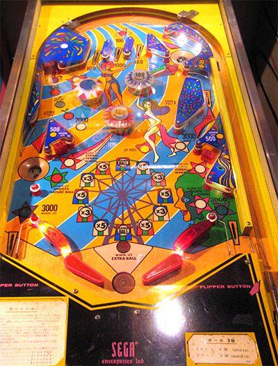 1976 Carnival Sega Pinball Machine Pinball Pinball Machine Gaming Products