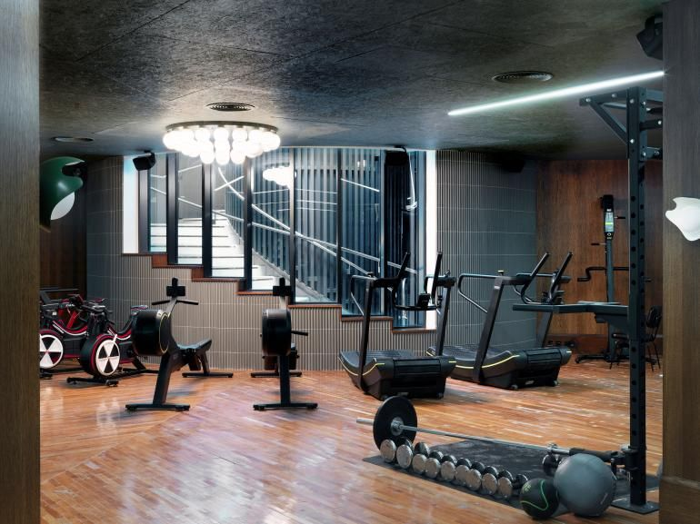 A First Look At White City House Members Club In London S Iconic Television Centre Soho House Soho House White City House Gym