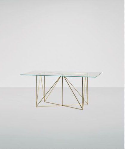 Collezione: POST DESIGN 2012   Designer: ALBERTO BIAGETTI  THE WIRE TABLE (SMALL)