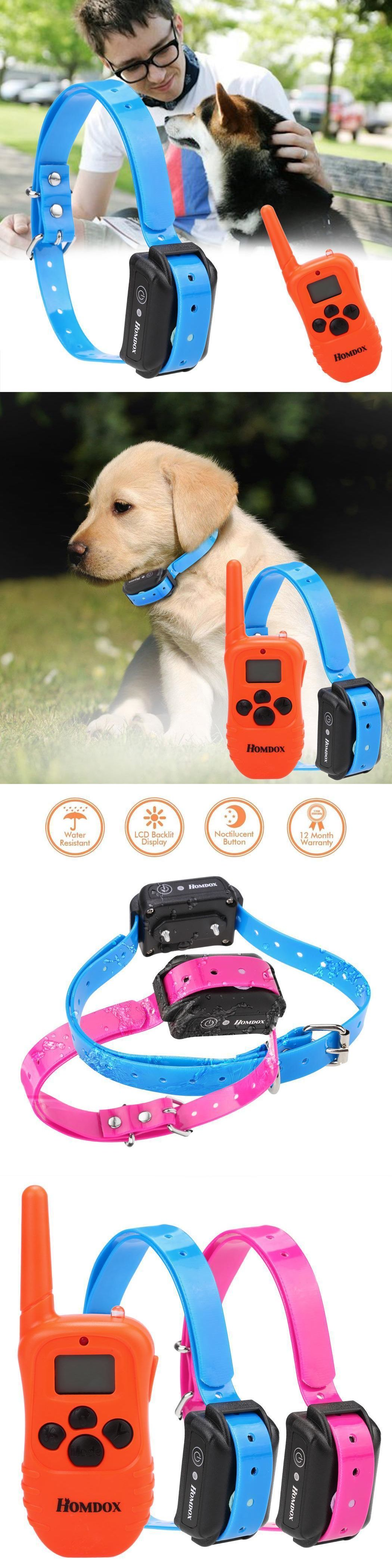 Clickers 100404 Dog Shock Collar With Remote Waterproof Electric