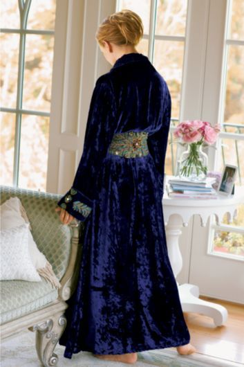 Soft Surroundings - vintage robe