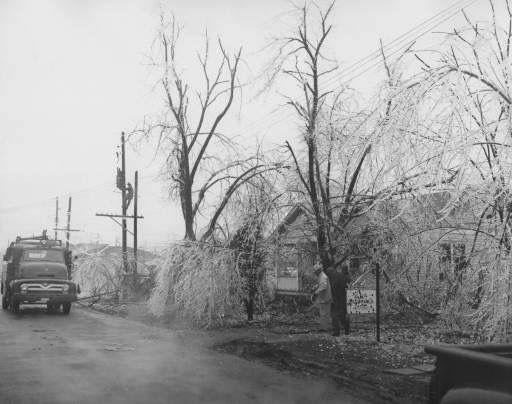 Jonesboro Ice Storm 1950 S Jonesboro Arkansas Tourist Jonesboro