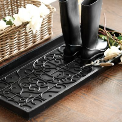 40 Boot Trays That Tame The Mudroom Madness This Is NOT My Beauteous Decorative Boot Tray