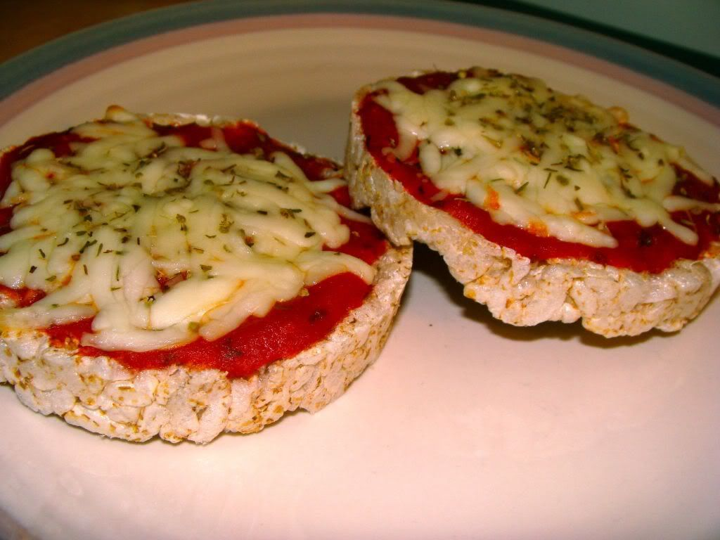 Rice Cake Pizza Unexpected Healthy Winter Snacks