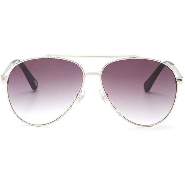 c83c1141d9 Fossil Women s Aviator Sunglasses ( 20) ❤ liked on Polyvore ...