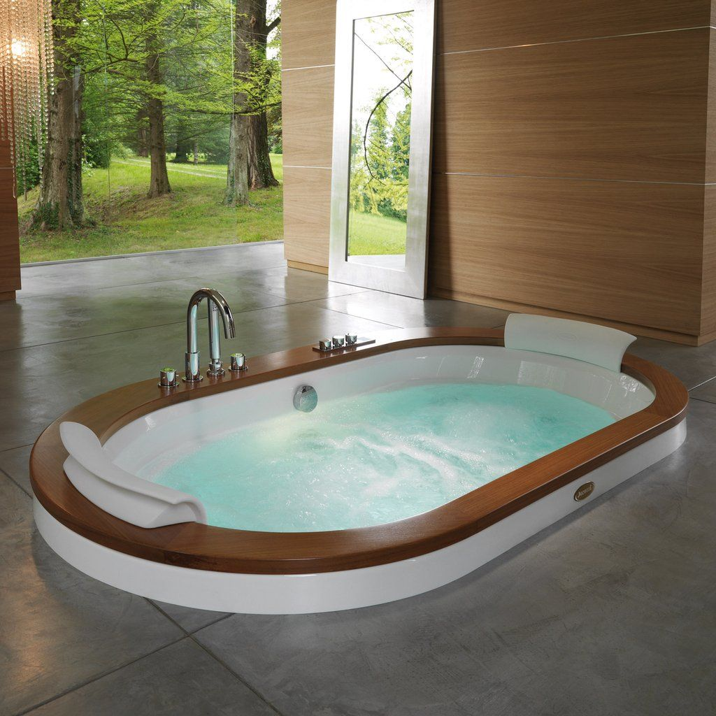 Jacuzzi Opalia Whirlpool Bath Surround 1950 X 1150mm Casas