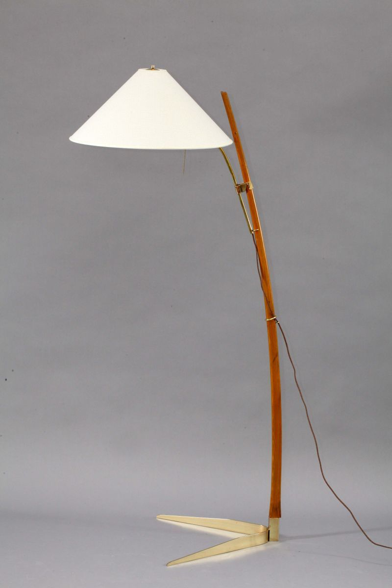 Floor Lamp By Rupert Nikoll 1950s For Sale At Pamono