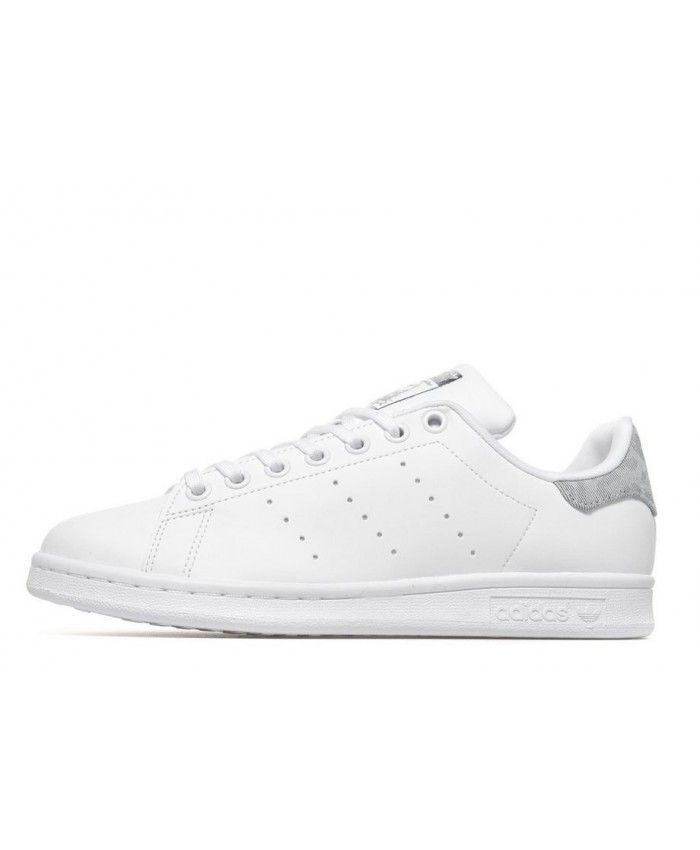best sneakers 8c9b4 77b9e Adidas Stan Smith Junior White Grey Trainers | stan smith ...