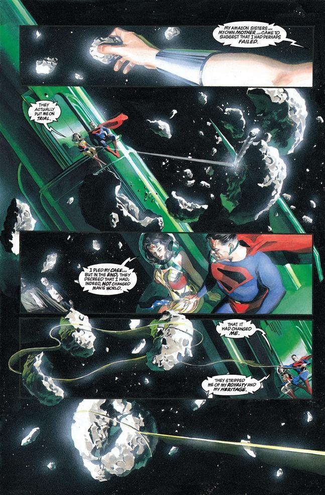 Kingdom Come #3. Superman. Wonder Woman. Alex Ross. Mark Waid (2)
