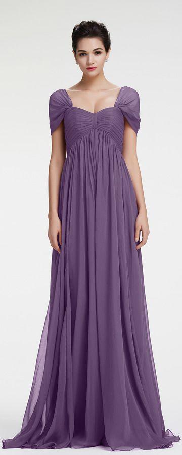 Lavender Evening Dress Maternity Formal Dresses Cap