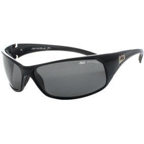 dce6b023593d3 Bolle Recoil Polarized TNS Black Frame Sport Sunglasses 10405 by Bolle.   71.96. Wrap-around style with high performance polycarbonate lenses