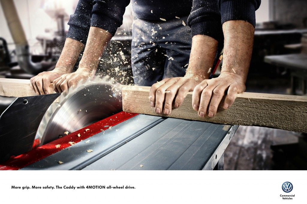 Volkswagen More Grip More Safety Circular Saw