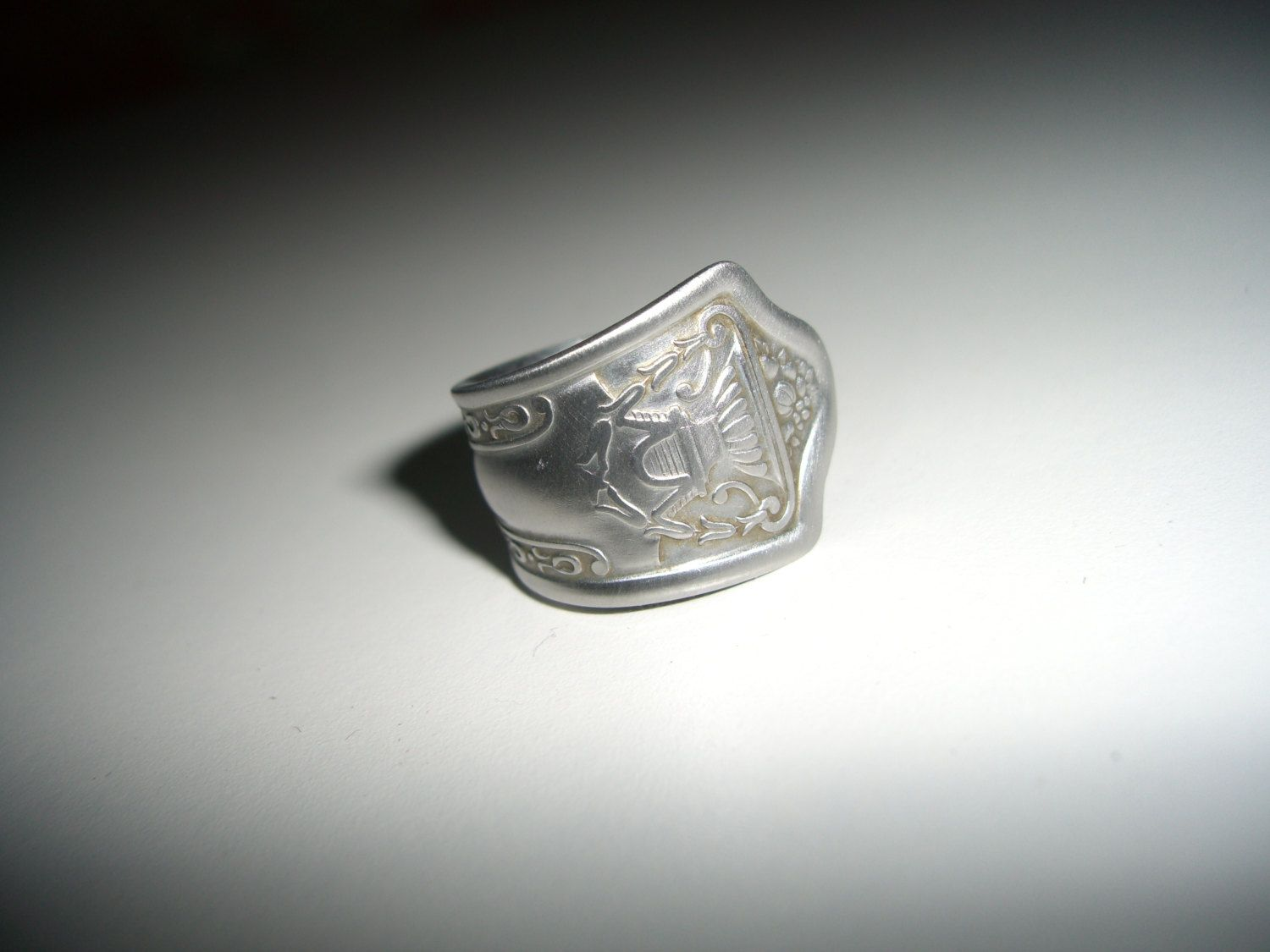 stainless steel spoon ring choose a size unique