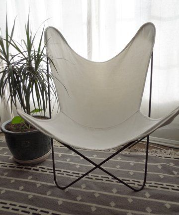 Pair Of Mid Century BKF Eames Era Butterfly Chairs