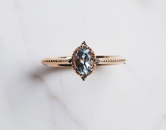 Photo of #aquamarin #ct #diamant #jewelryrings #ovaler