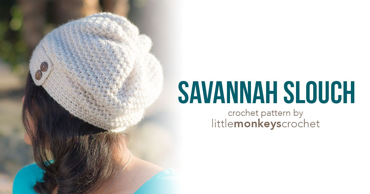 Savannah Slouch Hat | Pinterest | Gorros