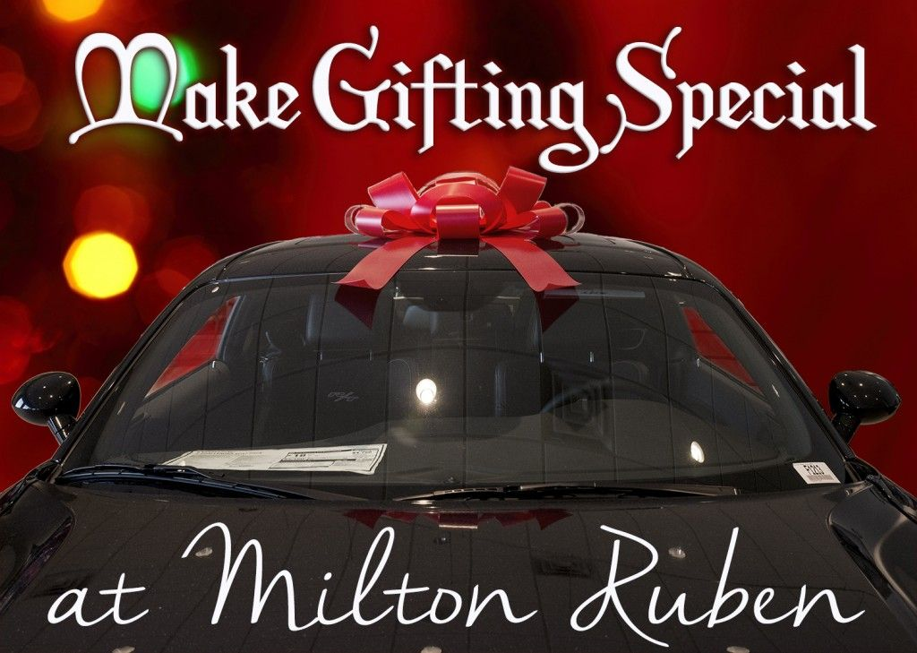 Find The Perfect Christmas Gift On Our Lot At Milton Ruben Auto Mall In  Augusta,