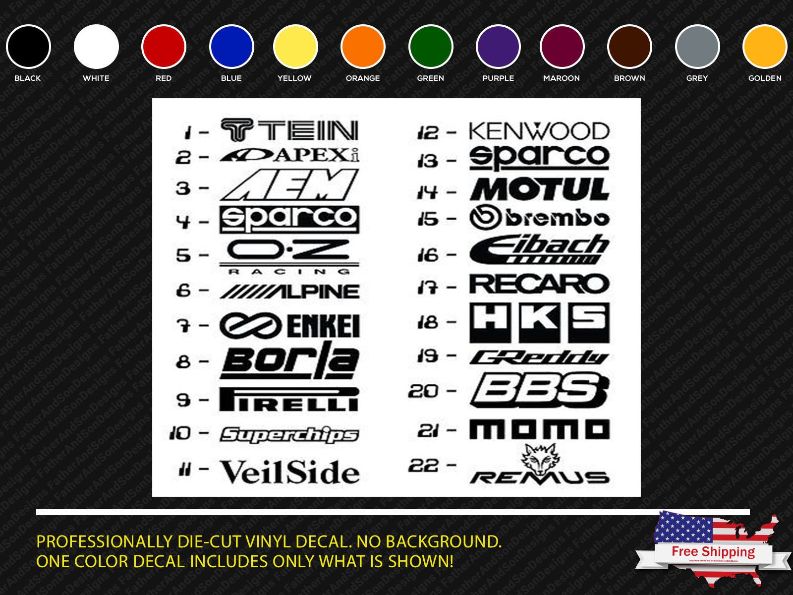Check Out Jdm Car Stickers Sponsor Decals Aftermarket Racing Performance Logos 12 Pcs In My Etsy Shop Today Https Www Etsy Com Car Stickers Jdm Jdm Cars [ 1200 x 1600 Pixel ]
