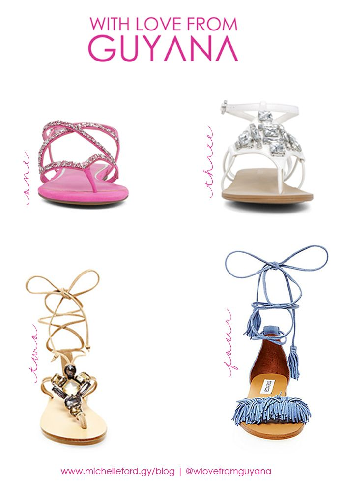 Summer Sandals | with love from Guyana