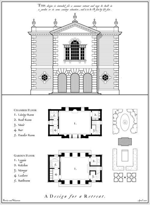 2 Georgian Folly Plan Elev Web Jpg Architectural Floor Plans