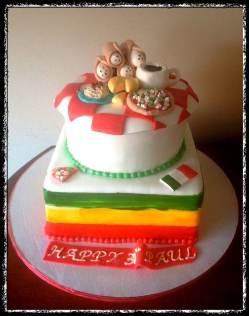 Italy Themed Cake Mama Mia My Italian Themed Birthday Cake