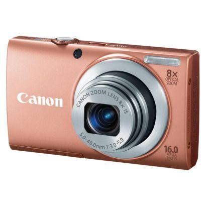 Canon Powershot A4000 16mp Digital Camera With 8x Optical Zoom Pink Influenster Canon Powershot Compact Digital Camera Powershot