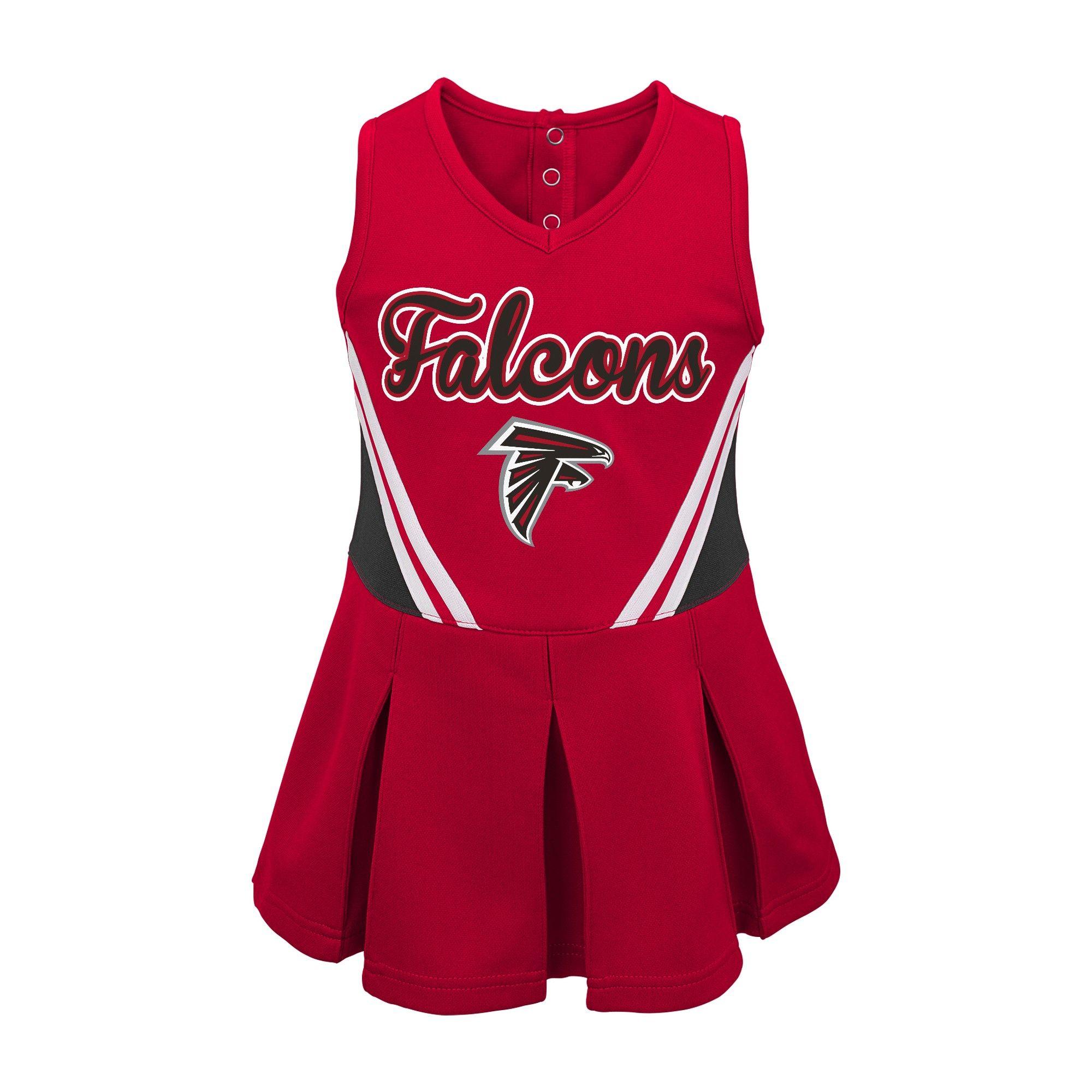Atlanta Falcons Baby Girls Cheer Set 12 M Size 12 Months