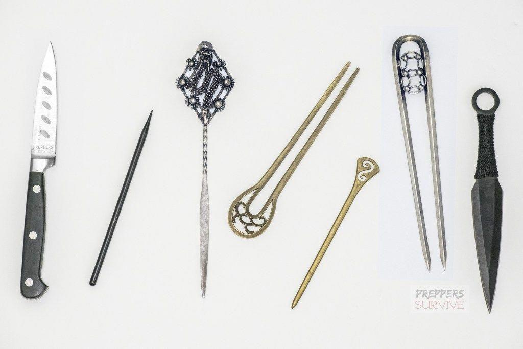 Self Defense Techniques Japanese Kanzashi Hair Accessories