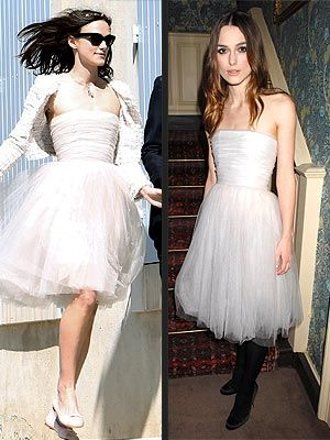 Keira Knightley S Chanel Wedding Dress Something Old
