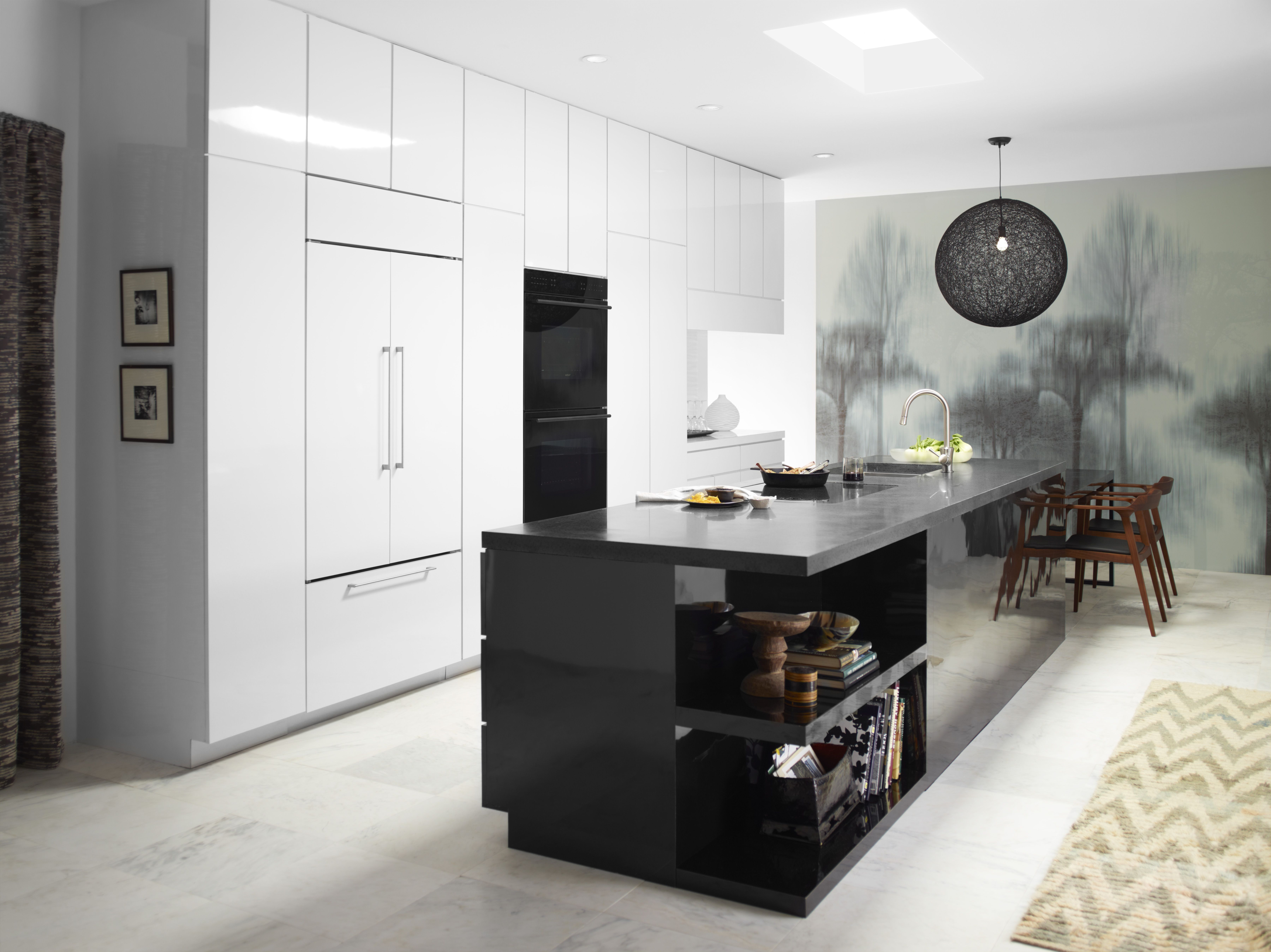 Paneled Appliances To Blend In With Your Cabinets Http://www.subzero