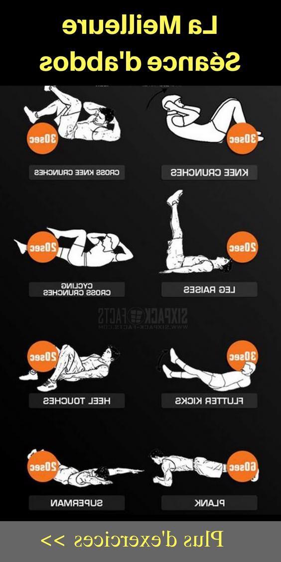 exercices abdos : Vous voulez tonifier votre abdomen à la maison ? Mettez en pratique ces exercices...