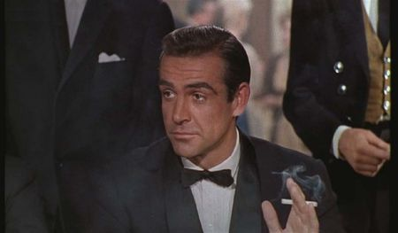 "Sean Conney in ""Dr. No"" (Terence Young, 1962)"