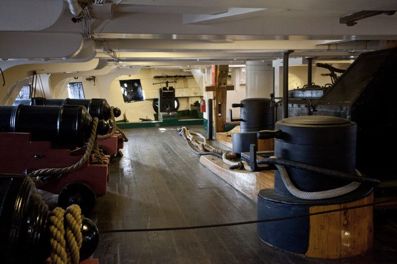 A Below Decks Section of the USS Constitution | Ships ... Uss Constitution Pictures Of Deck