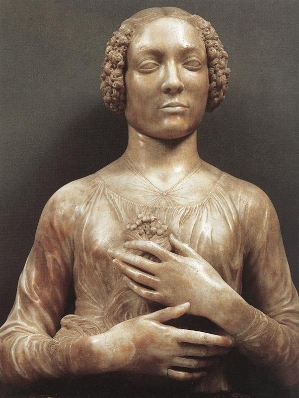 Andrea Del Verrocchio Arte Pintura Obras De Arte Pinturas Arte Renacentista
