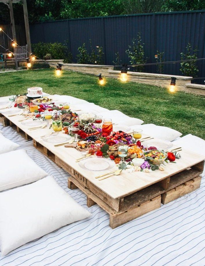 Garden Party Ideas The Best Summer Party Seating Cushions Pallettable