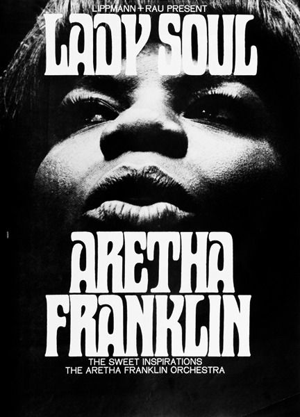 aretha franklin poster music poster