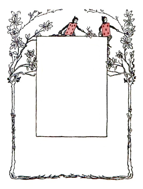 Free Vintage Graphics From Alice In Wonderland Cards And