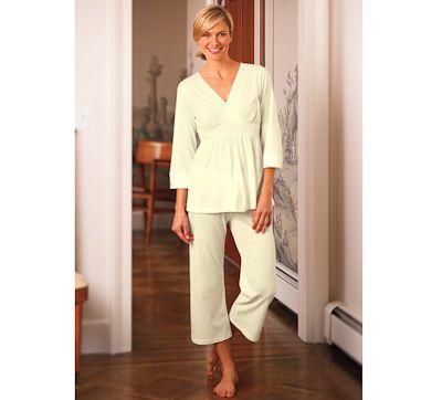 Pima Cotton Modal Rebecca Capri Pajama by Amadora  808f4d2e1