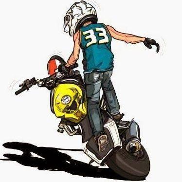 cce8b70d5 Resultado de imagem para adesivo moto empinando Motocross Em Ação, Grau De  Moto, Tunados