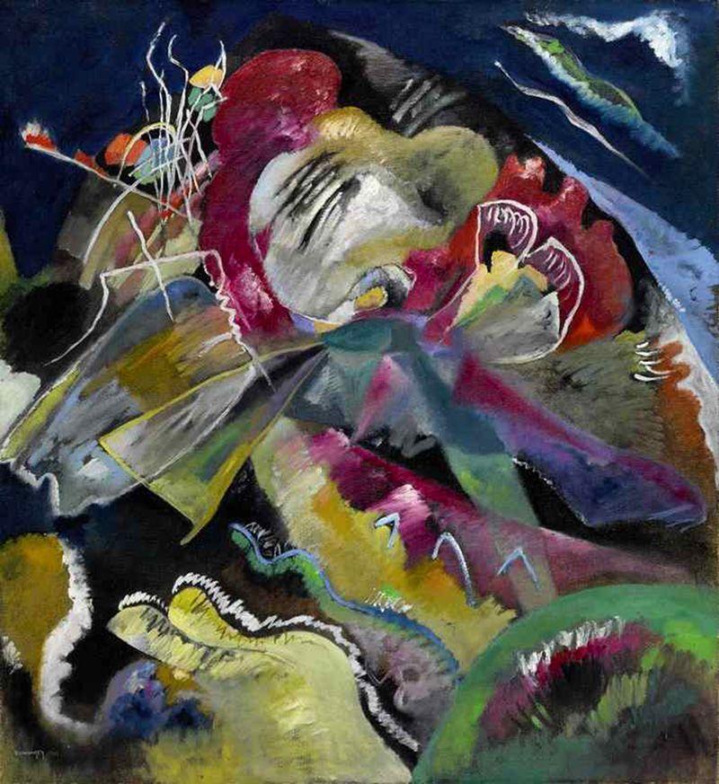 Кандинский из Музея живописной культуры продан за рекордные £33 млн   The Art Newspaper Russia — новости искусства