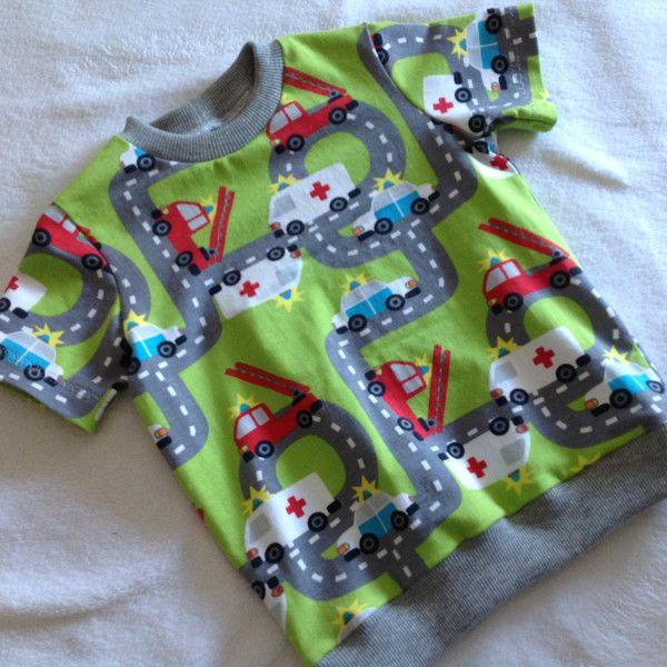 """T-Shirts - T-Shirt """"On the Road"""" Wunschgröße - ein Designerstück von Frau-Haase…"""