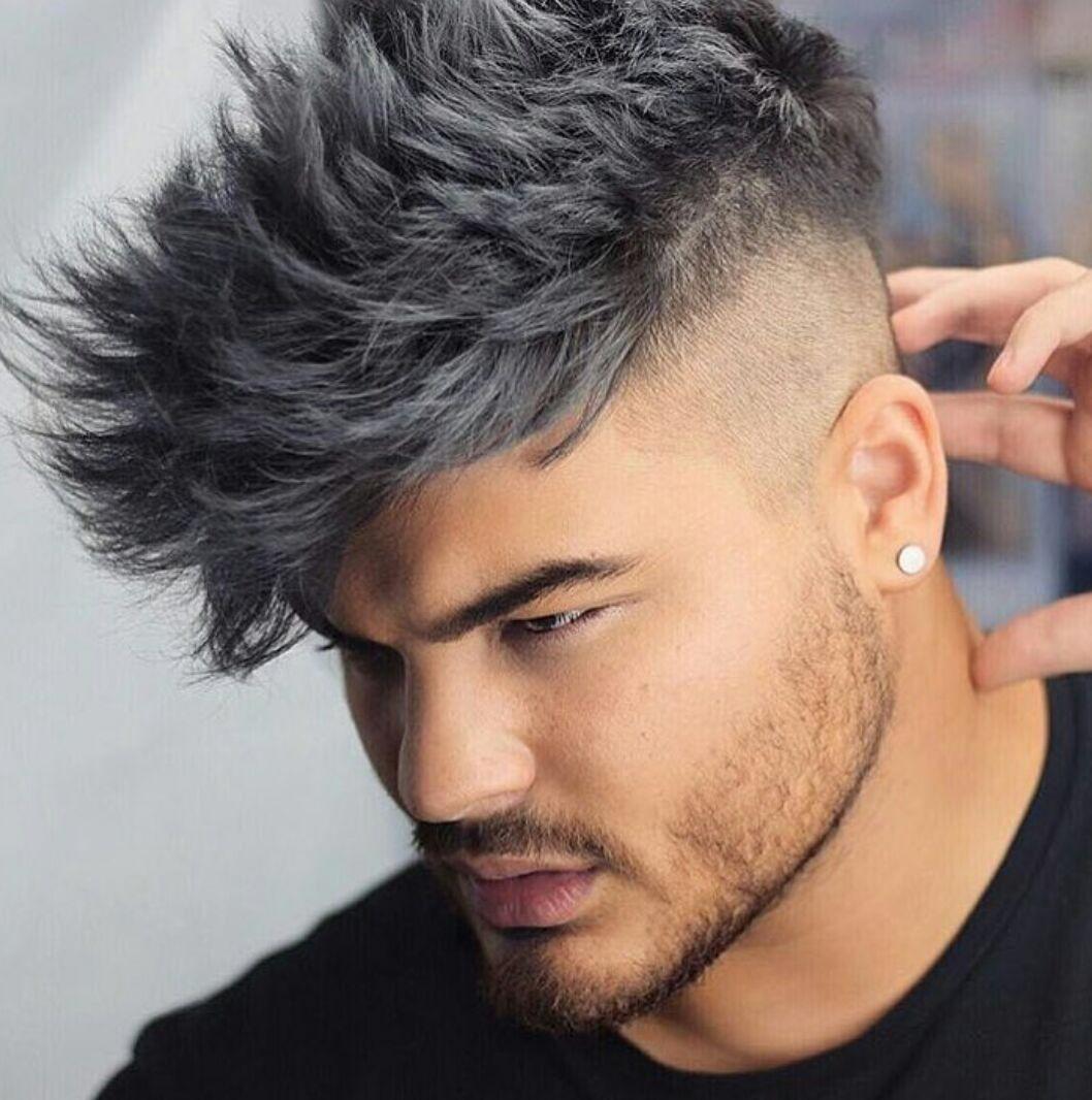 Pin By Zach Davis On Hair Men Hair Color Grey Hair Dye Men Hair Highlights