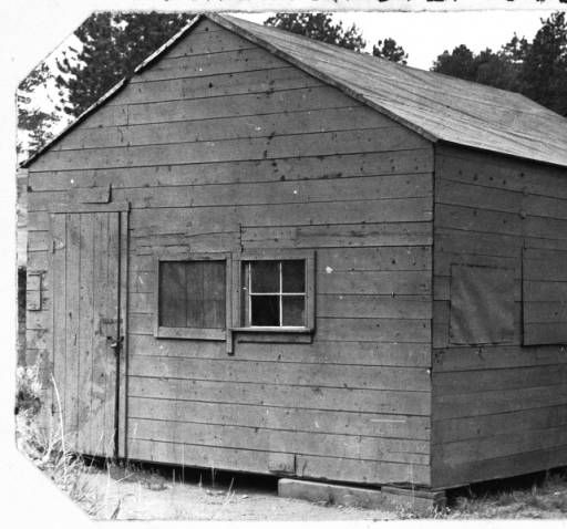 Genial Ice House U0026 Storage Building At The Evergreen Golf Course :: Western History