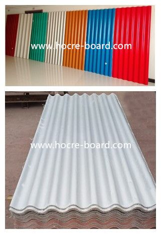 Non Asbestos Corrugated Mgo Roofing Sheet